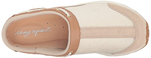 Easy Spirit Womens Travelport Mule Light Multi Suede Naturale
