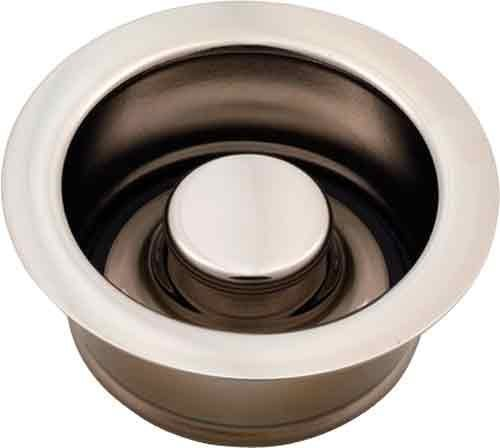 Jaclo 2815-SN Garbage Disposal Flange with Stopper, Satin Nickel by - Supply Jaclo