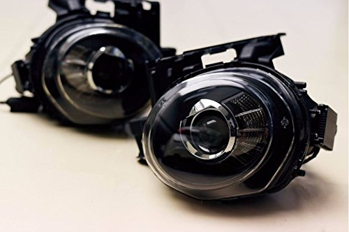 GOWE Car Styling for Nissan JUKE headlights 2013 2014 2015-2018 led ESQ headlight Head Lamp led drl projector headlight h7 hid Color Temperature:4300k;Wattage:55w 1