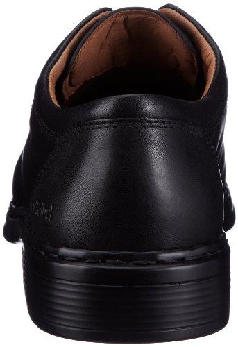 Josef Seibel Schuhfabrik GmbH Maurice 41200 23 600 - Zapatos de cordones de cuero para hombre Negro