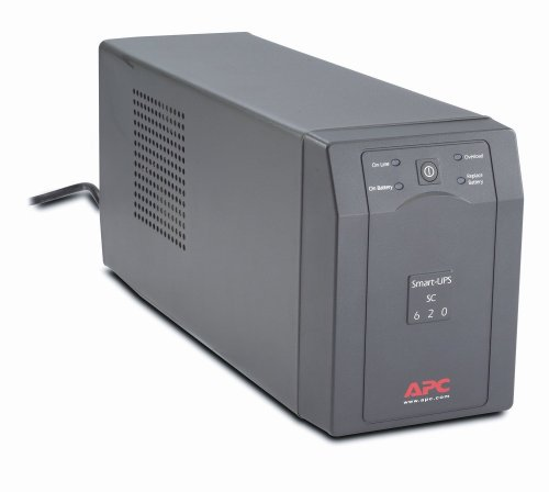 APC Smart-UPS SC620 4-Outlet 620VA 390W UPS System (Apc Pc Business)