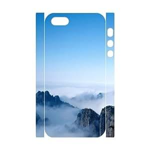 Customized case Mountains Diy 3D Case for iPhone 5,5S UN860723