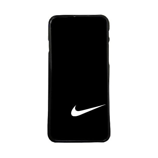 ELHURON Carcasas De Moviles Fundas De TPU Compatible con El Modelo de Movil Samsung Galaxy S8 Nike Negro Marcas
