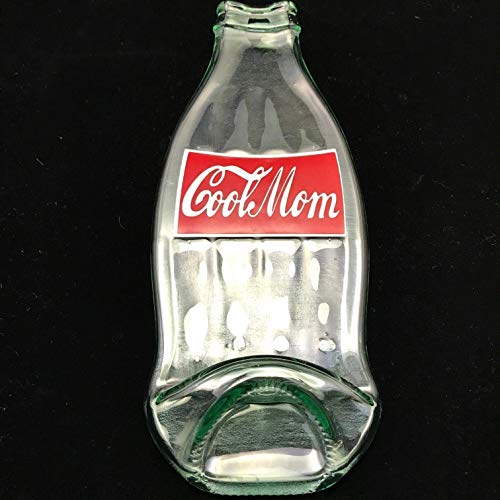 Cool Mom Magnet Repurposed Coca Cola Glass Bottle ()