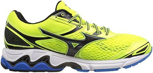 Directoir Men's Mizuno Running Wave Yellow Safety Black Shoes Inspire Canada 13 Blue awv7qSg