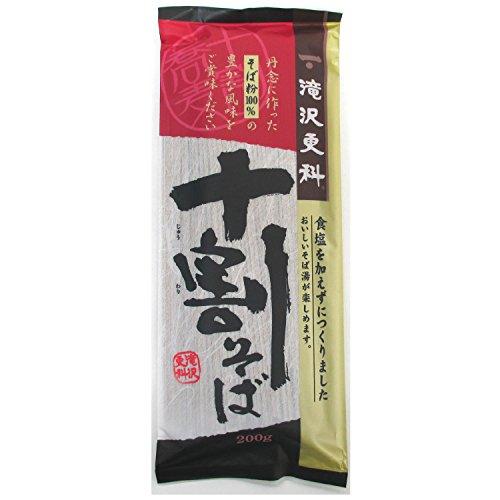 타키자와  10할 소바  200g×15개