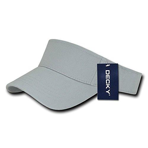 DECKY Sports Visor, Grey - Grey Visor