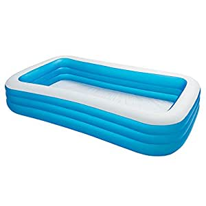 Intex swim center family inflatable pool 120 for Intex pool 120 hoch