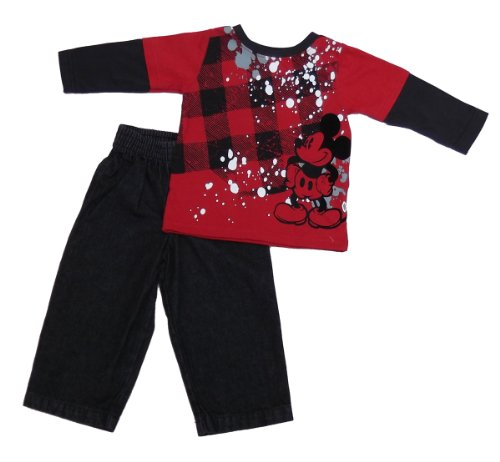 Mickey Mouse Infant Boys 2pc Jeans Set