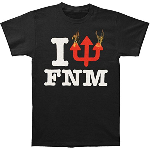 (Faith No More Men's Hollywood Palladium Slim Fit T-shirt Small Black)