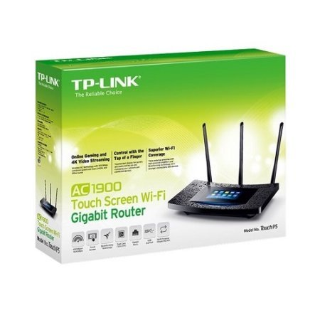 TP-Link AC1900 Desktop Wi-Fi Range Extender w/ Touchscreen Interface (RE590T) by TP-Link
