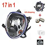 17in 1 Full Face Respirator Widely Used in