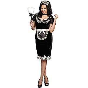 ab55d756a7d4 Plus Size French Maid Costumes for Sale - Funtober Halloween