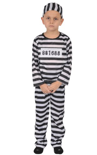 Kids Prisoner Costume - Large  sc 1 st  Amazon.com & Amazon.com: Kids Prisoner Costume - Large: Baby