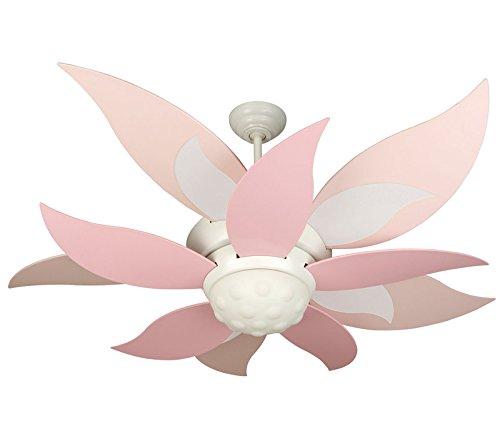ceiling fan pink - 2