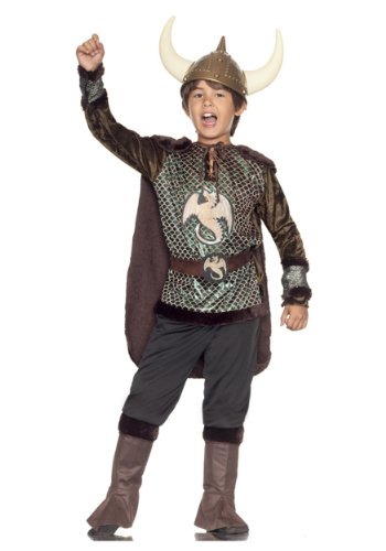 Big Boys Viking Costume Medium 8 10 Buy Online In Uae