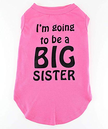 Midlee I'm Going to be a Big Sister Dog Shirt (XX-Large) (Going To Be A Big Sister Dog Shirt)