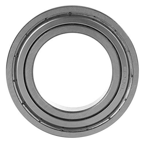 - Fevas 1 Pcs Deep Groove Double Shielded Bearing Steel Ball Single Column Bearing Needle Roller Bearing cuscinetti Bearings - (Color: 60010-ZZ)