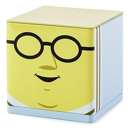 Hallmark Cubeez Muppets Doctor Bunsen Honeydew Square Tin MUP5042 (Muppets Dr Bunsen Honeydew)