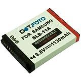 Dot.Foto Batterie de qualité pour Samsung SLB-11A - Entièrement 100% compatibles - 3,8v / 1130mAh - garantie de 2 ans [Pour la compatibilité voir la description]