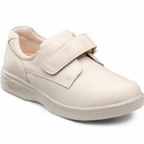 Dr. Comfort Annie-X Women's Therapeutic Diabetic Double Depth Shoe: Beige 8 X-Wide (XW/4E) Velcro