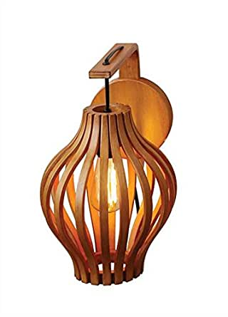 Chinese Lantern Wall Lights : Chinese Lantern Bamboo Wall Sconce - - Amazon.com