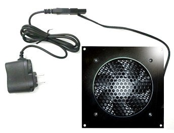 CabCool 1201 Lite Single 120mm Fan Cooler Kit for Cabinet/Home Theater ()