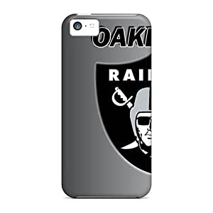 Snap-on Case Designed For Iphone 5c- Oakland Raiders