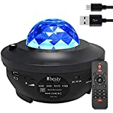 Original BESTY HOME Night Light Baby Star Projector, 10 Color Bluetooth night Lamp with Timer Remote, Dimmable…