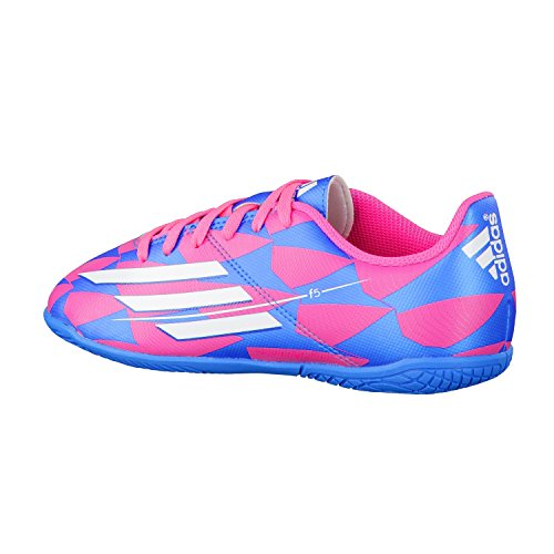 adidas Zapatilla Jr F5 IN Solar pink-Solar blue Rosa