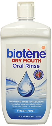 Biotene Dry Mouth Oral Rinse, Fresh Mint 16 oz -