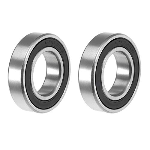 - uxcell 6903-2RS Deep Groove Ball Bearing 17x30x7mm Double Sealed ABEC-3 Bearings 2-Pack