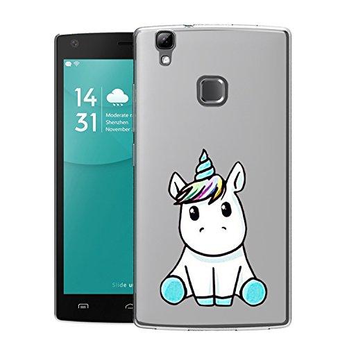 Doogee X5 Max Funda Linda Unicornio Soft Transparente Gel TPU Silicona FleX5ible Protectorae Teléfono Carcasa Cristal Bumper para Doogee X5 Max: Amazon.es: Electrónica