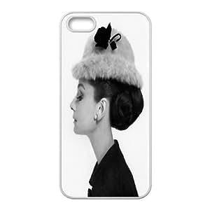 Custom Printed Phone Case Audrey Hepburn For iPhone 5, 5S RK2Q03176
