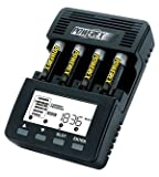 Powerex MH-C9000 WizardOne Charger-Analyzer for 4 AA or AAA NiMH Batteries