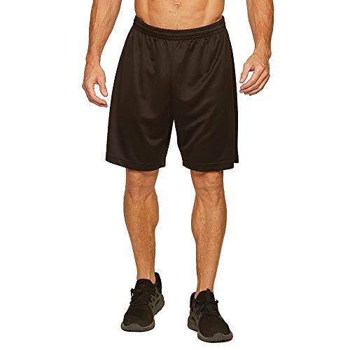 (Colosseum Mens Monte Carlo Basketball Shorts Black - 2XL)
