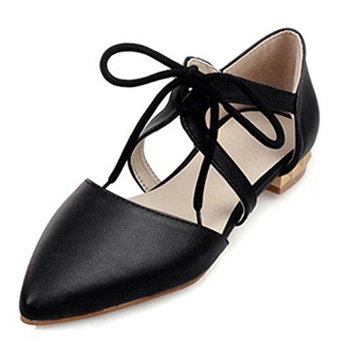 Fashion Heel - zapato con cordones mujer negro