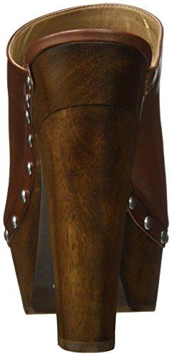 Steve Madden Damen Pantolette Cognac