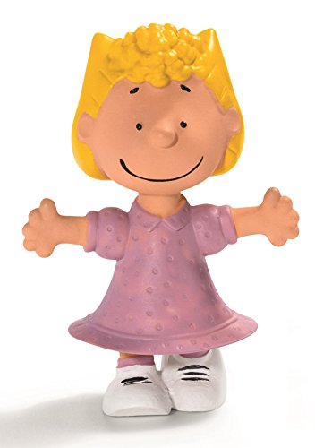 Hand Painted State Quarter - Schleich Peanuts Sally Figure