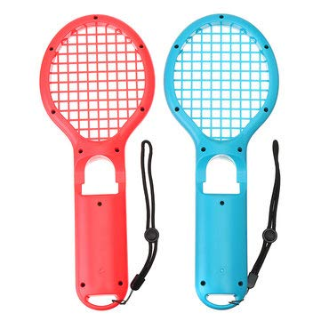 2Pcs TNS-1843 Tennis Racket Racquet Game Controller Gamepad for Switch Joy-Con Game Console - Nintendo Video Games Accessories Nintendo Switch ()