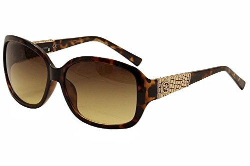 GUESS Women's Acetate Rectangle Square Sunglasses, 52F, 60 - Women Shades Guess For