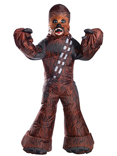 [Rubie's Star Wars Adult Chewbacca Inflatable Costume, One Size] (Inflatable Costumes 2017)