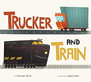 Book Cover: Trucker and Train