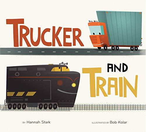 Book Cover: Trucker and Train