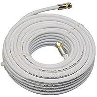 CBO-5947-20Metros KIT CABO COAXIAL RG59 47% CONECTORESantenas. Fabricado em aço carbono