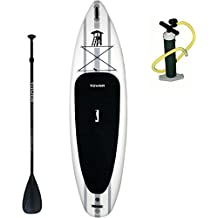 """Tower Paddle Boards Inflatable Stand Up Paddle Board Package """"Adventurer 2"""" 10'4"""". Tower iSUPs Are Made With Military Grade Material For Maximum Strength And Durability"""