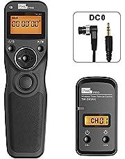 Wireless remote for nikon, PIXEL Wireless shutter release timer remote control DC0 Compatible for nikon D850 D810 D800 D700 D500 D5 D4