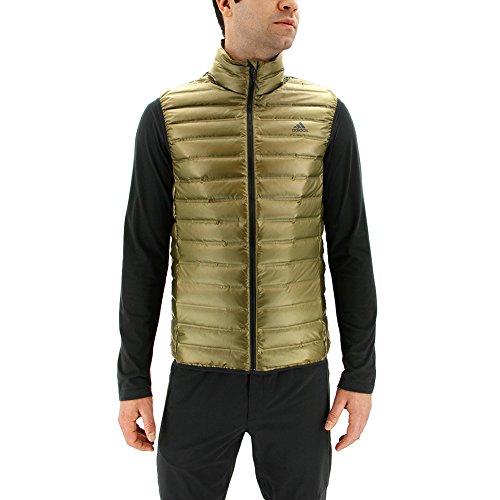 Adidas Sport Performance Men's Varilite Vest, Trace Olive, S Adidas Full Zip Vest