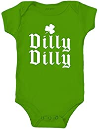Dilly Dilly ST. Patrick's Day Baby Clothes Onesie Bodysuit
