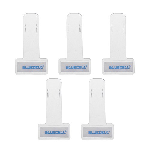 - BCP Transparent Windshield Plastic Parking Ticket Holder Clip with Adhesive Tape -5 Packs
